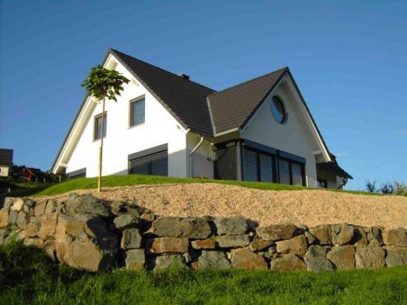 Hausbau: Hochwertiges EFH Holzständerbauweise